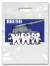 Bags - 2 Color Brush On Teeth Small 7.5x9 (100)
