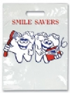 Bags - 2 Color Smile Savers Small 7.5x9 (100)