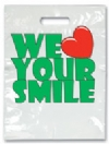 Bags - 2 Color Love Your Smile Small 7.5x9 (100)