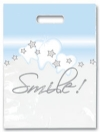 Bags - 2 Color Stars & Smiles Small 7.5x9 (100)