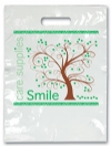 Bags - 2 Color Tree Smiles Small 7.5x9 (100)