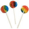 Sweets - Lollipop Round Rainbow Sugarfree (170)