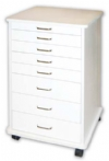 Doctor's mobile cabinet- light grey or white
