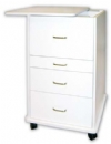 Assistant's Alabama mobile cabinet- light grey or white