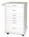 Assistant's North Carolina mobile cabinet- light grey or white
