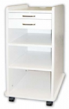 Utility mobile cabinet - light grey or white
