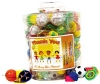 Toys - Canister Mix Action Toys Up to 132 Ct 132