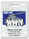 Bags - 2 Color Brush On Teeth Imprnt 7.5x9 (500)