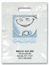 Bags - 2 Color Tooth Smile Imprnt 7.5x9 (500)