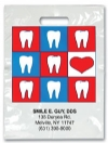 Bags - 2 Color Hearts & Teeth Imprnt 7.5x9 (500)