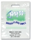Bags - 2 Color Brush Floss Smile Imprint 9x13 (500)