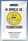 Bags - 2 Color Smile Forever Imprint 9x13 (500)