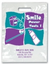 Bags - 2 Color Smile Power Tools Imprint 9x13 (500)
