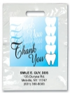 Bags - 2 Color Thank You Teeth Imprint 9x13 (500)