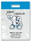Bags - 2 Color Great Checkup! Imprnt 7.5x9 (500)