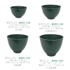 Plaster Flexible Green Mixing Bowls
