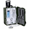 PC2630 PORTABLE DENTAL SYSTEM 4 Hole Tubings, 110v/(With Suction) & Transportation Case on wheels