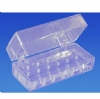 Bur Blocks With Boxes - Clear Plexiglass - 16 Hole