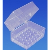 Bur Blocks With Boxes - Clear Plexiglass - 27 Hole